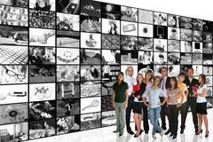 Media-Raum Lizenzfreie Stockfotografie