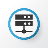 Media Server Icon Symbol. Premium Quality Isolated Datacenter Element In Trendy Style. Premium Quality Isolated Datacenter Element In Trendy Style. Media Server Stock Illustration