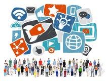 Media Social Media Social Network Internet Technology Online Stock Photos