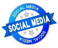 Media sociales Fotografía de archivo libre de regalías