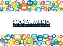 Media sociales Fotos de archivo libres de regalías