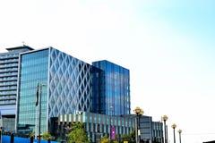 media stad het UK, Salford-kaden, Manchester, het UK stock afbeeldingen