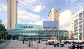 Media-Stadt Manchester Stockfotografie