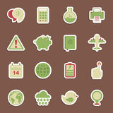 Media stickers Royalty Free Stock Image