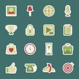 Media stickers Stock Image