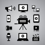 Media symbol Royalty Free Stock Photo