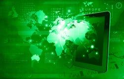 Media technologieën wereldwijd Royalty-vrije Stock Afbeelding