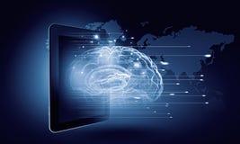 Media technologieën wereldwijd Stock Fotografie