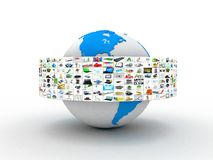 Media technologies concept Royalty Free Stock Image