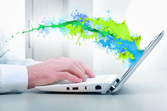 Media technologies Royalty Free Stock Images
