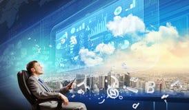 Media technologies Stock Image