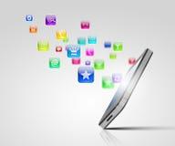 Modern technology media Royalty Free Stock Photography