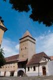 Media - torre del puesto de observación Imagen de archivo libre de regalías