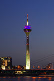 Media Tower, Dusseldorf Royalty Free Stock Photography