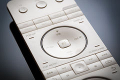 Media tv remote control. Royalty Free Stock Image