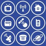 Media - Vector Icons Set Stock Image