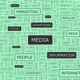 MEDIA stock illustration