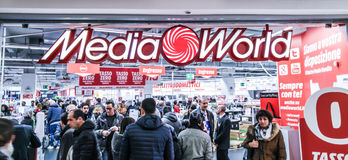 Media World Royalty Free Stock Images