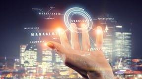 Media worldwide technology concept . Mixed media Royalty Free Stock Image