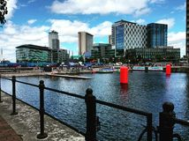Mediacity à Manchester Photos libres de droits