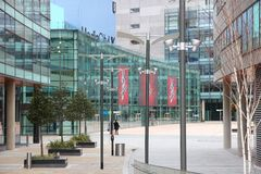 MediaCity UK Royalty Free Stock Photos