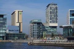 Mediacity UK przy Salford Quays zdjęcia royalty free
