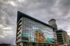 MediaCityUK, la maison neuve pour la BBC photos stock