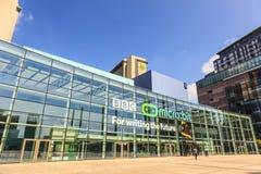 MediaCityUK, la maison neuve pour la BBC images libres de droits