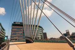 The MediaCityUK in Manchester England. Royalty Free Stock Photo