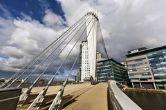 The MediaCityUK in Manchester England. Royalty Free Stock Photos