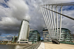 The MediaCityUK in Manchester England. Royalty Free Stock Image