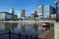MediacityUK Royalty Free Stock Images