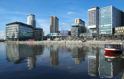 MediacityUK at Salford Quays Stock Photo
