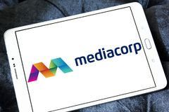 Mediacorp商标 库存照片