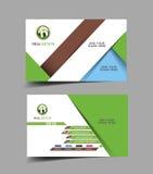 Mediador imobiliário Business Card Imagens de Stock