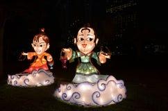 Mediados de Autumn Lanterns Imagen de archivo