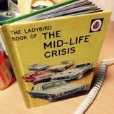 Mediados de crisis de la vida Fotografía de archivo libre de regalías