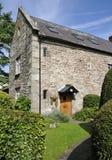 Mediaeval houses. In Four Ash Street. Usk Stock Photo