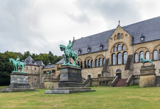 Mediaeval Imperial Palace in Goslar, Germany Royalty Free Stock Images