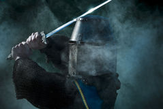 Mediaeval knight Stock Photos