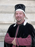 mediaeval noblemanpontremoli för festival Royaltyfri Bild