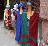 Mediaeval tunics Stock Photography