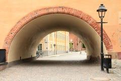 mediaeval tunnel uppsala Royaltyfri Foto