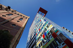 Mediahafen Dusseldorf Stock Image