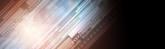 Medialna technologia, ewolucja integracja w życiu, dla biznesu ilustracji