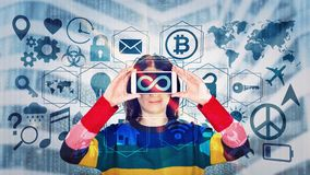 Medialne technologie ilustracja wektor