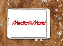 Medialny Markt łańcuchu logo obrazy stock