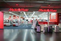 Medialny Markt elektroniczny sklep Fotografia Royalty Free