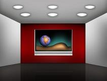 medialny nowożytny pokój Obrazy Royalty Free