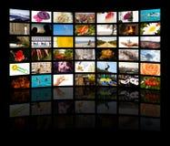 medialny pokój Fotografia Stock